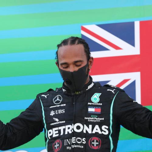 Hamilton wins Spanish Grand Prix and sets new record