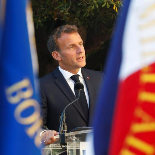 Macron says he set red lines with Turkey in eastern Mediterranean