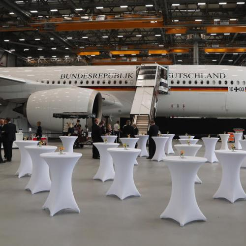 Photo Story: German air force receives new Airbus A350