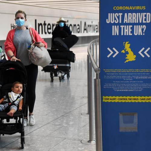 Switzerland, Czech Republic and Jamaica added to UK's quarantine list