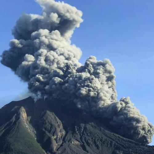 Photo Story: Sinabung Volcano erupts in Indonesia