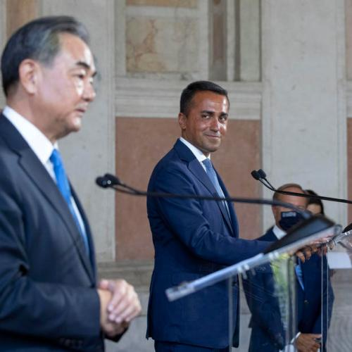 Italy says China a key strategic partner, despite U.S. concerns