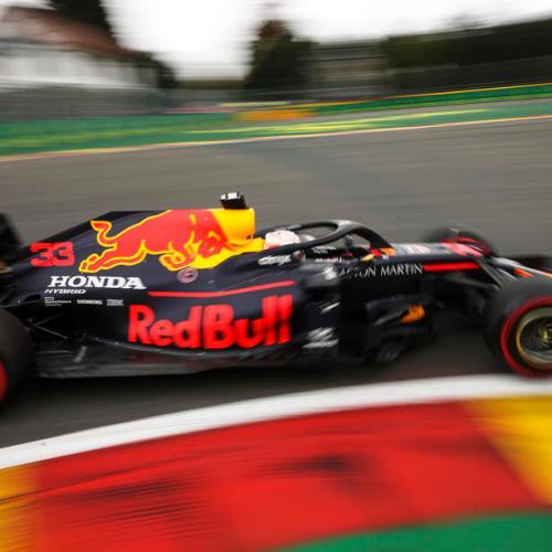 Verstappen fastest in Belgian GP racing practice