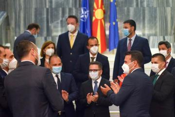 North Macedonia's coalition Government approved