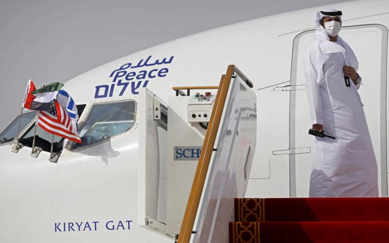 First-ever direct Israel – UAE commercial flight held today