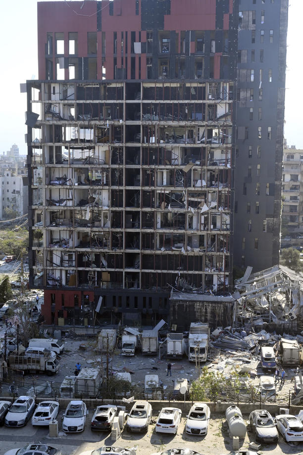 Aftermath of massive blast in Beirut