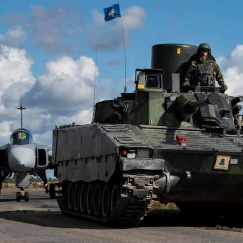 Photo Story: Swedish Armed Forces beefs up presence on Gotland