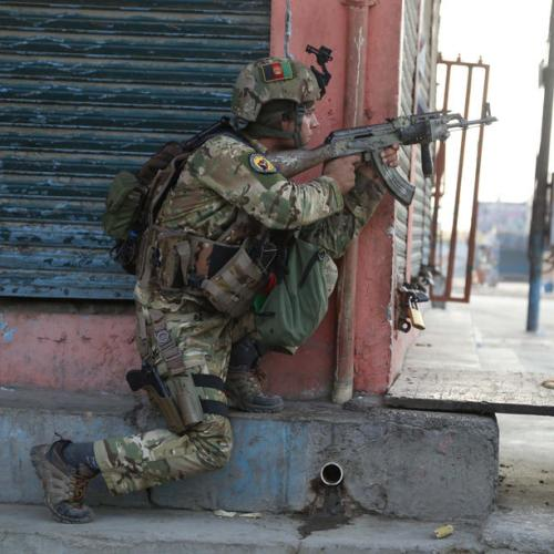 Taliban close in on two provincial Afghan capitals as U.S. forces exit country