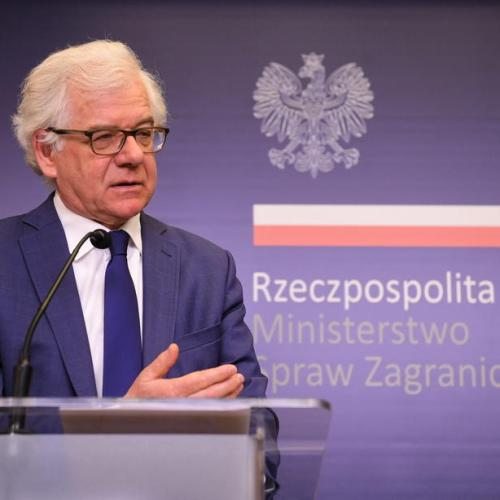 Poland's foreign minister resigns