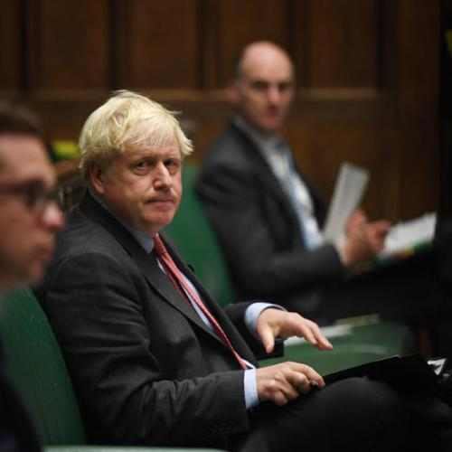 UK PM Johnson wins over rebels on Brexit treaty-busting powers