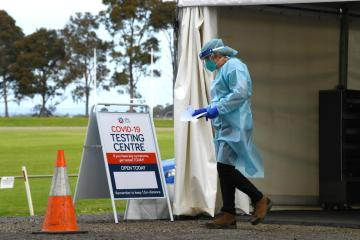 Australia virus epicentre state says new cases drop to 3-month low