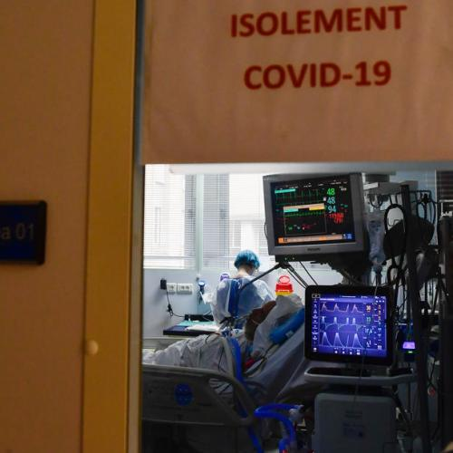 Hospitals in France delay operations to cope with COVID surge