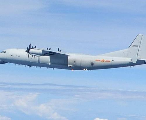 Taiwan reveals Chinese anti-submarine aircraft off its coast