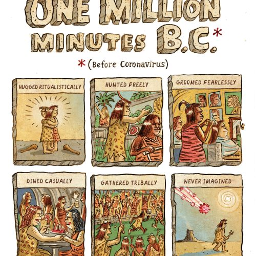 Cartoon: One Million Minutes B.C.
