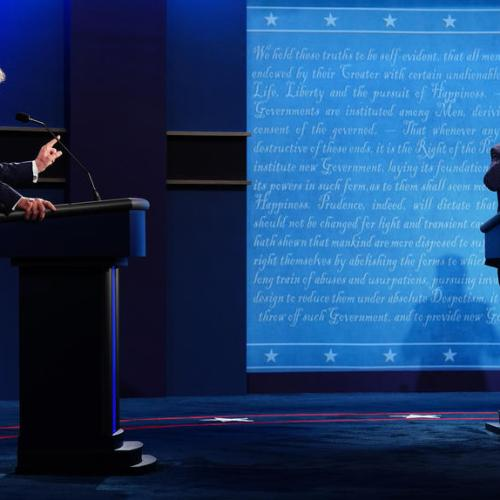 Final Trump-Biden debate to feature mute button