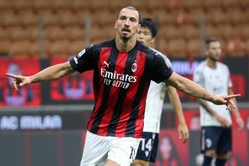 AC Milan striker Zlatan Ibrahimovic tests positive for coronavirus