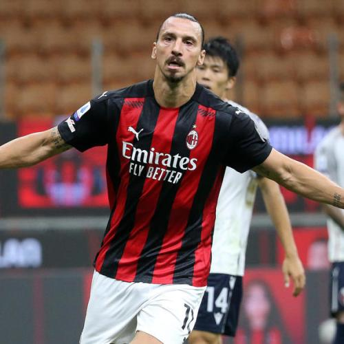 AC Milan striker Zlatan Ibrahimovic tests positive for coronavirus