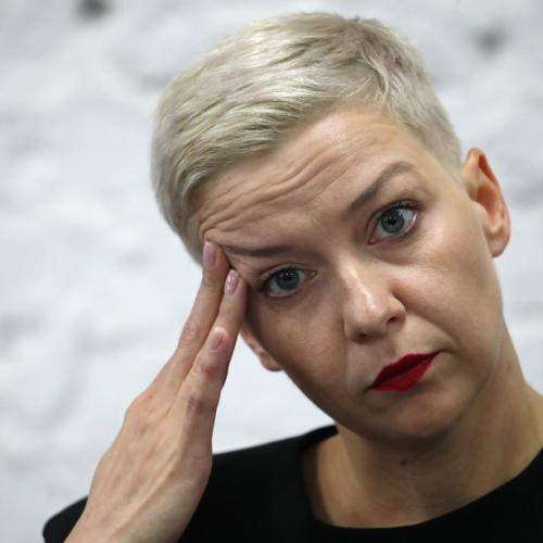 Belarusian opposition figure Maria Kolesnikova located in  Ukraine
