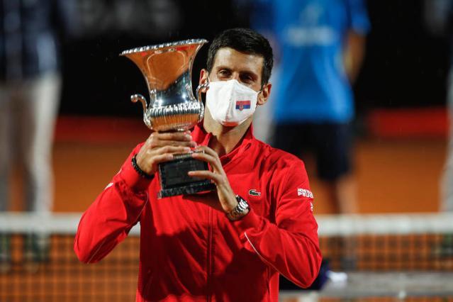 Djokovic wins his fifth Italian Open