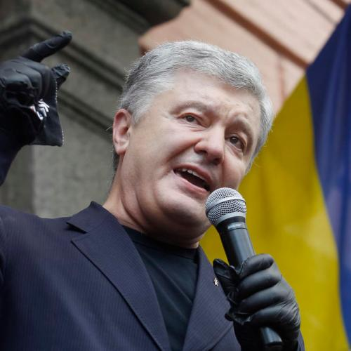 Former Ukraine president Poroshenko contracts coronavirus as cases hit record
