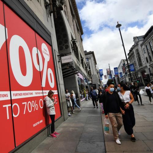 UK's post-lockdown recovery loses steam as household demand weakens