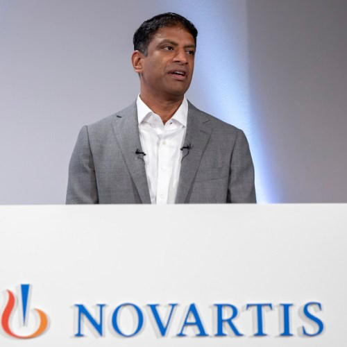 Novartis CEO says it will take more than vaccines to fight COVID