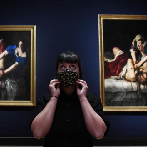 Photo Story: Artemisia Gentileschi Art Exhibit Opens at National Gallery in London