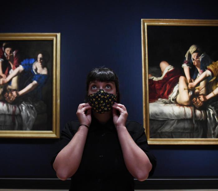 Photo Story: Artemisia Gentileschi Art Exhibit Opens at National Gallery in London