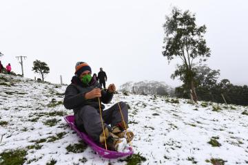 Photo Story: Snowfall in Victoria, Australia