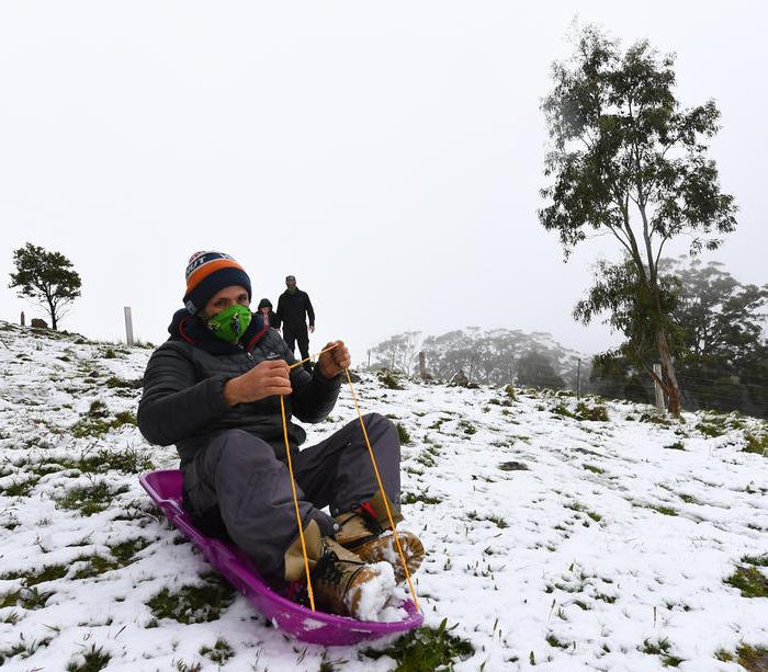 Photo Story: Snowfall in Victoria, Australia