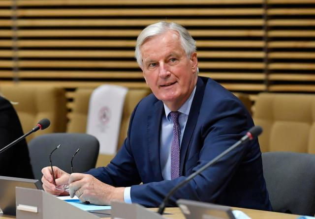 """EU chief negotiator """"determined"""" to get Brexit deal"""