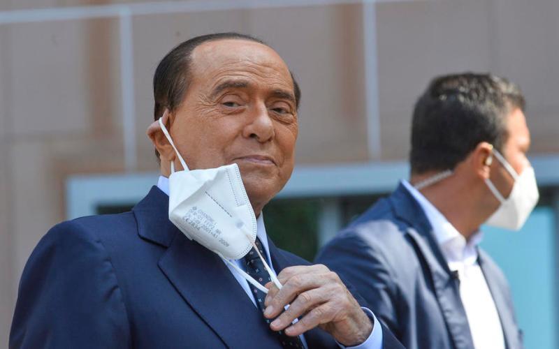 Berlusconi tests positive once more for coronavirus