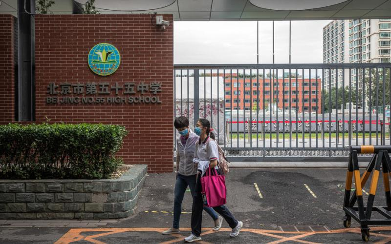 China's international schools struggle as teachers, students remain stuck abroad