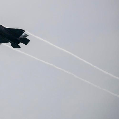 U.S. F-35B fighter jet crashes after collision with refueling plane