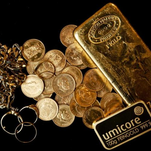 Gold steadies as rate hike bets recede