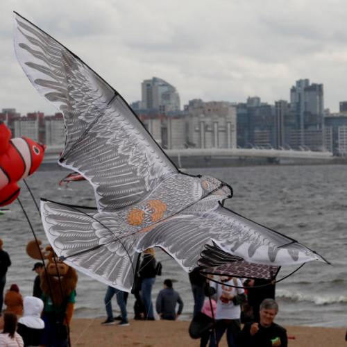 Photo Story: Kite festival in St. Petersburg