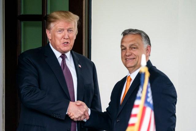 Hungary PM Orban endorses U.S. President Trump in November election