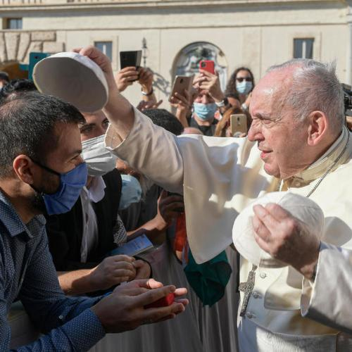 Photo Story: The Pope stresses need to care for each other