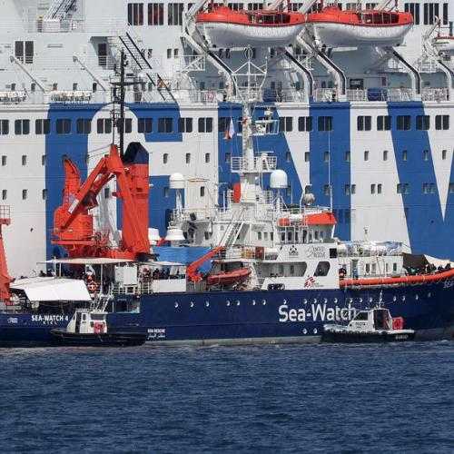 Sea-Watch calls Italy's blockade of rescue ship 'political'