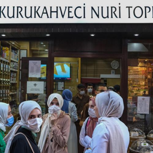 Turkey at second peak of coronavirus outbreak