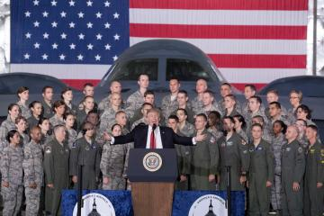 Trump willing to sell arms systems to other countries in Middle East
