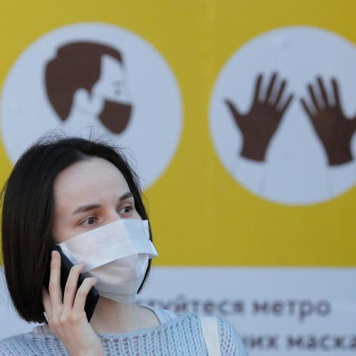 Ukraine registers record number of Covid cases