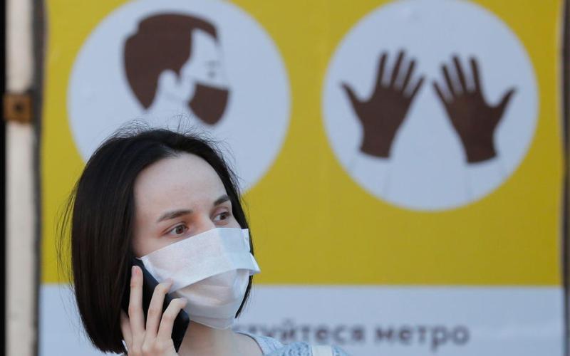 Ukraine registers record number of Covid cases