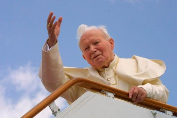 Relic of Pope John Paul II's blood stolen from cathedral in Spoleto, Italy