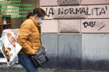 Italy says no more masks outdoors from next week