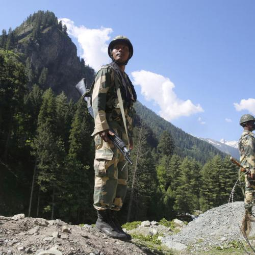 India moves troops along eastern stretch of border with China