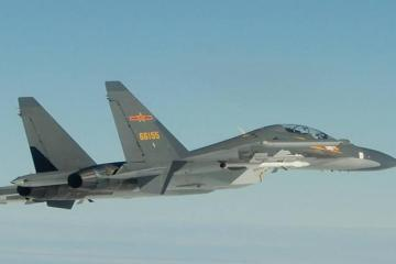 Taiwan reports surge in Chinese aircraft in defence zone