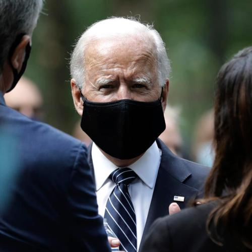 Biden contradicts Trump's suggestion that vaccine is weeks away