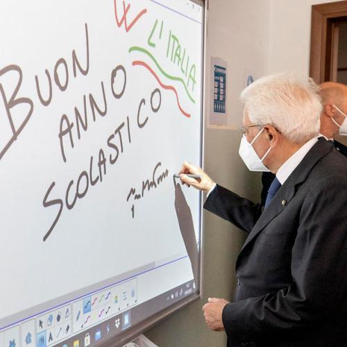 Return to school is return to hope – Italian President