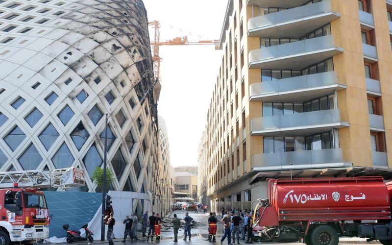 New fire in Beirut unnerves shattered residents